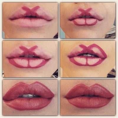 Tutorial trucco labbra voluminose