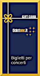 voucher biglietti per concerti ticketone idee regalo per natale