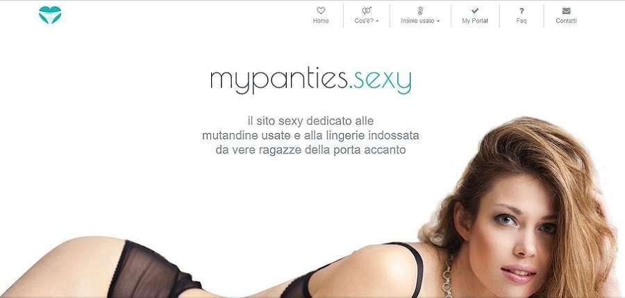 Come vendere le mutandine usate su mypanties.sexy